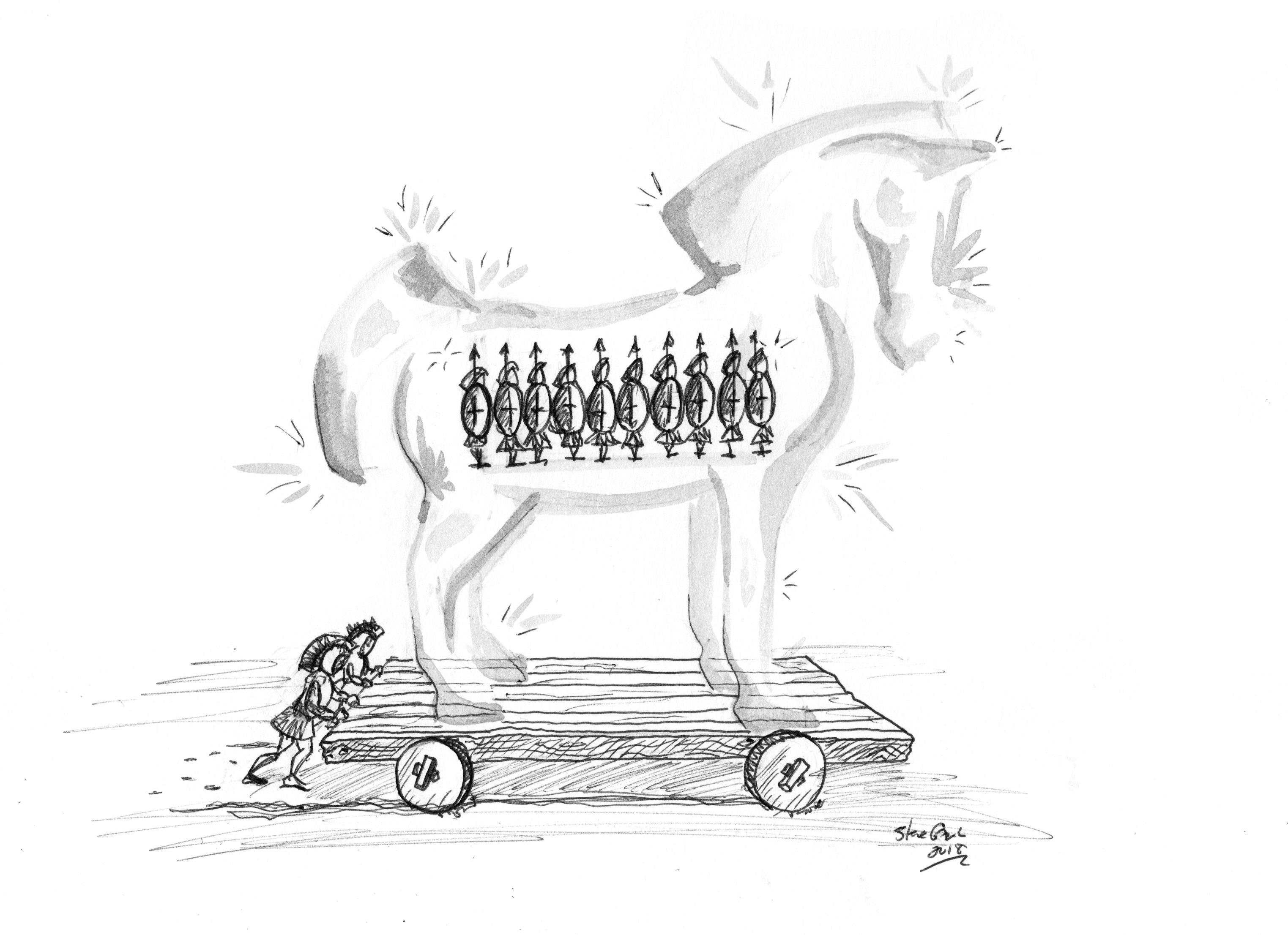 Transparent Trojan Horse Part 2 Entropolitan